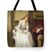 Flo Dombey In Captain Cuttle's Parlour Tote Bag