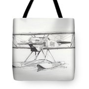 Float Plane Ib10 Tote Bag