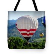 Floatin' In The Rockies 20 Tote Bag