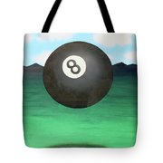 Floating 8 Tote Bag