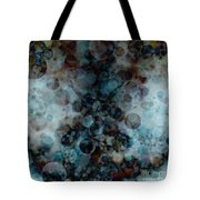 Floating Bubbles Tote Bag by Michal Boubin