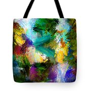Floating Chair Tote Bag