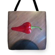 Floating Cherry Chilli Tote Bag