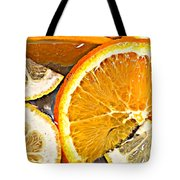 Floating Citrus Tote Bag