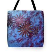 Floating Floral - 001 Tote Bag