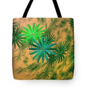 Floating Floral - 004 Tote Bag