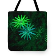 Floating Floral-007 Tote Bag
