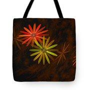 Floating Floral-008 Tote Bag