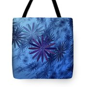 Floating Floral-010 Tote Bag