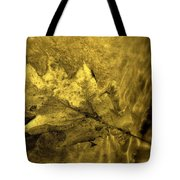 Floating Foliage Tote Bag by Ed Smith