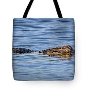 Floating Gator Tote Bag
