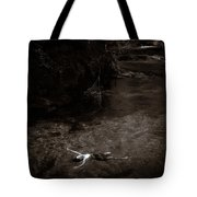 Floating In Light Tote Bag by Scott Sawyer
