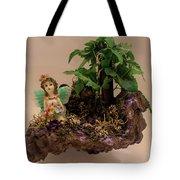 Floating Island Fairy Tote Bag