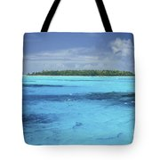 Floating Island Tote Bag