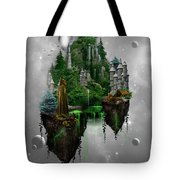 Floating Kingdom Tote Bag