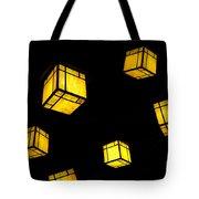 Floating Lanterns Tote Bag