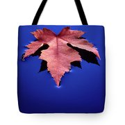 Floating Leaf 2 - Maple Tote Bag