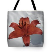 Floating Lily Tote Bag