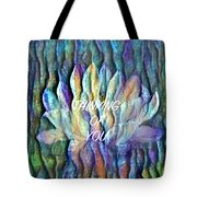 Floating Lotus - Thinking Of You Tote Bag