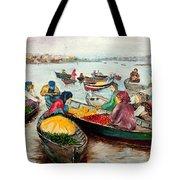 Floating Market Tote Bag