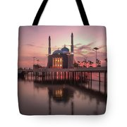 Floating Mosque Tote Bag