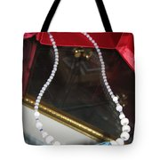 Floating Necklace Tote Bag