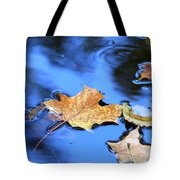 Floating On The Reflected Sky Tote Bag