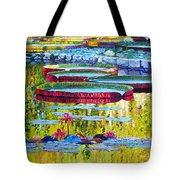 Floating Parallel Universes Tote Bag