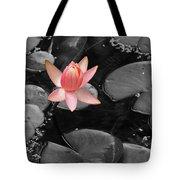 Floating Pink Tote Bag
