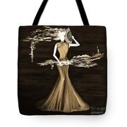 Floating Scent Tote Bag