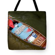 Floating To Work Tote Bag
