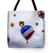 Floating Upward Tote Bag