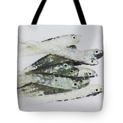 Flock Of Lures Tote Bag