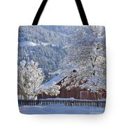 Flocked Tote Bag