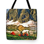 Floe Lake Tote Bag