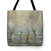 Flood In Giverny Tote Bag
