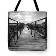 Flooded Bridge Tote Bag