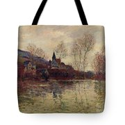 Floods At Giverny Tote Bag
