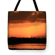 Sunset After A Spring Storm Tote Bag