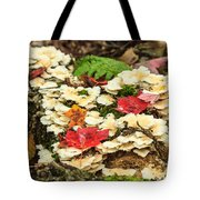 Floor Of The Forest In Fall Tote Bag