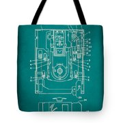 Floppy Disk Assembly Patent Drawing 1c Tote Bag