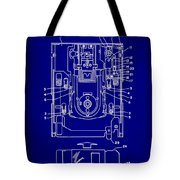 Floppy Disk Assembly Patent Drawing 1e Tote Bag