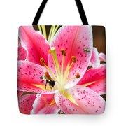 Flora And Fauna Tote Bag