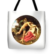 Flora And Zephyr 1875 Tote Bag