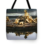 Flora Fountain - Palace Of Versailles Tote Bag