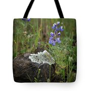 Flora On The Plateau Tote Bag