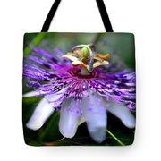 Flora Passiflora Tote Bag