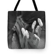 Flora Stigma Bw Tote Bag