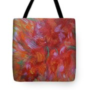 Floral Abstract, Sunshine Bouquet Tote Bag