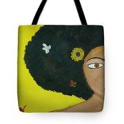 Floral Allure Tote Bag